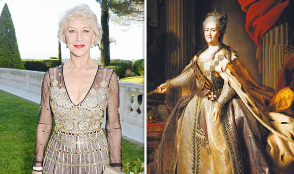 Catherine the Great and Helen Mirren