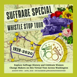 All aboard the Suffrage Special Whistle Stop Tour!