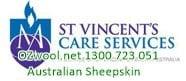 Australian Sheepskin – Australian Lambskin – Medical Sheepskin Australian Sheepskin Products st vincents care services
