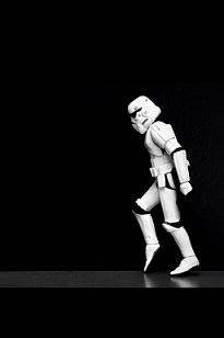 Moon Walking Storm Trooper