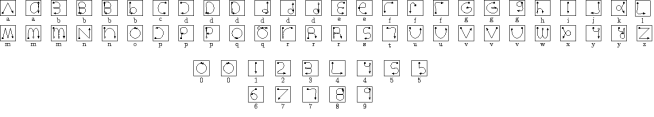 xstroke-letters-and-numbers