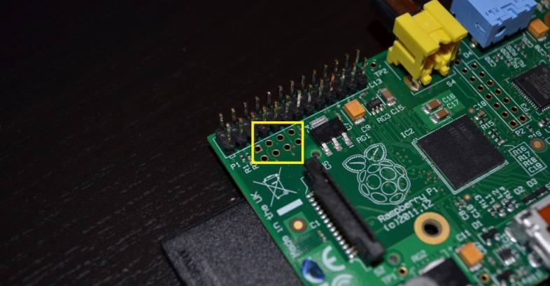 Raspberry Pi P5 header