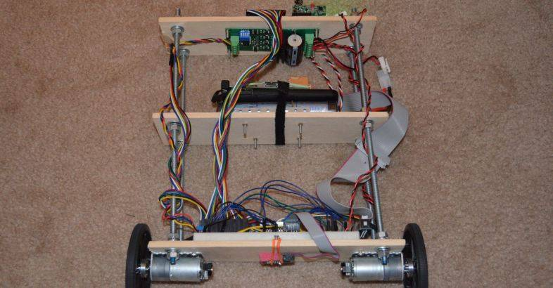 Success with a Balancing Robot using a Raspberry Pi | ozzmaker com
