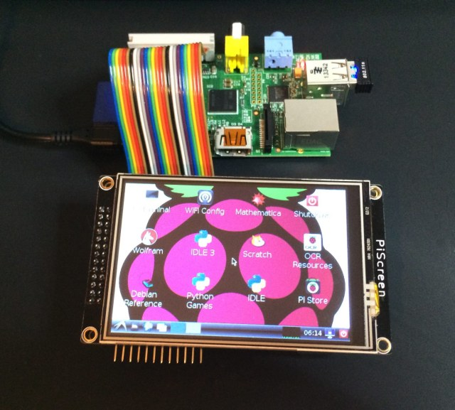 PiScreen 3.5 TFT Rasberry Pi
