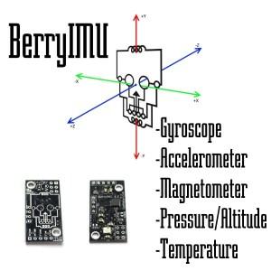 BerryIMU Raspberry Pi