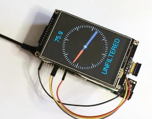 Raspberry Pi compass