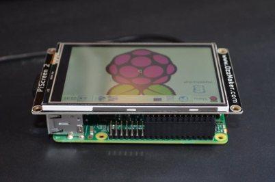 PiScreen and Raspberry Pi B+ & Pi 2