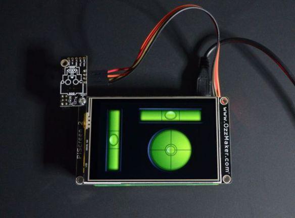 Raspberry Pi Digital Spirit Level | ozzmaker com