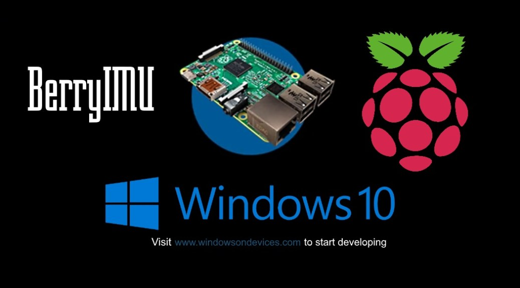 Windows IoT IMU