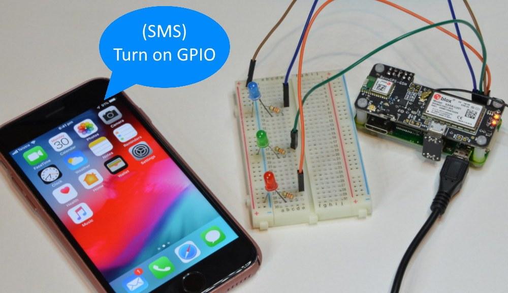 SMS Raspberry Pi