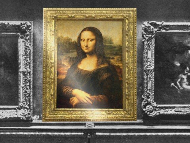 Resultado de imagen para Fotos del Robo en el Museo del Louvre del famoso cuadro La Mona Lisa