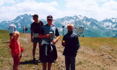 2/7 – En dag i Alperna