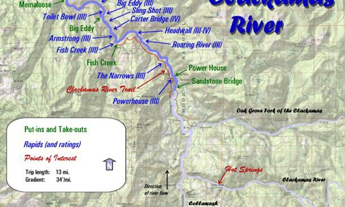 28/6 – Rafting At Clackamas River