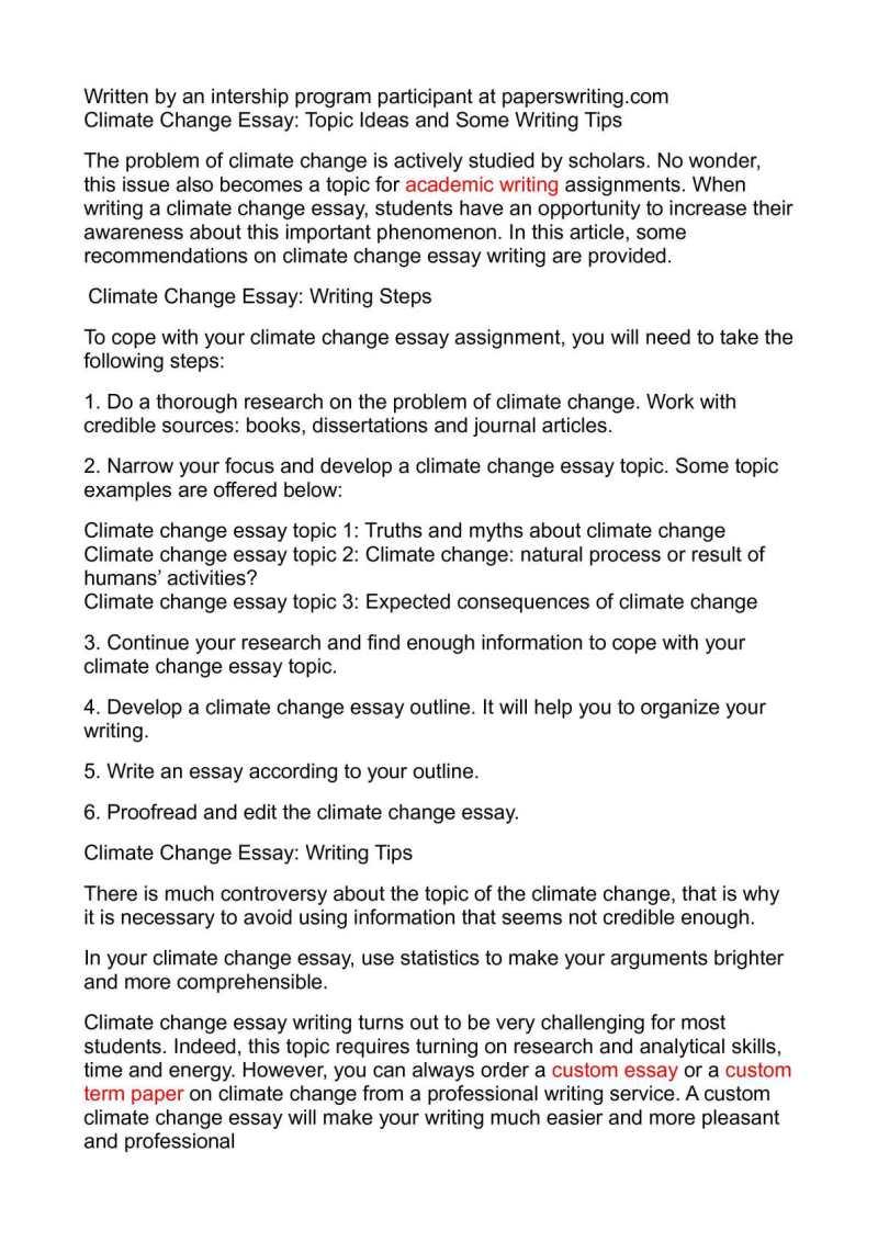 global warming essay for students climate change calamatildecopyo