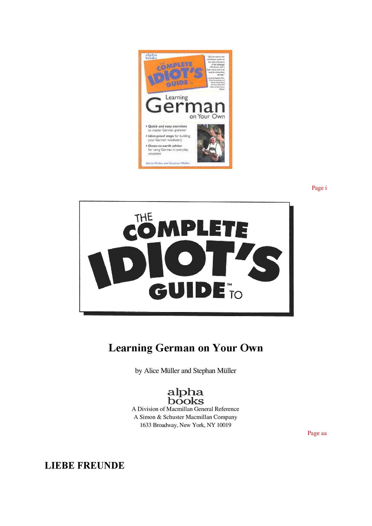 Calameo Learn German With Yourself