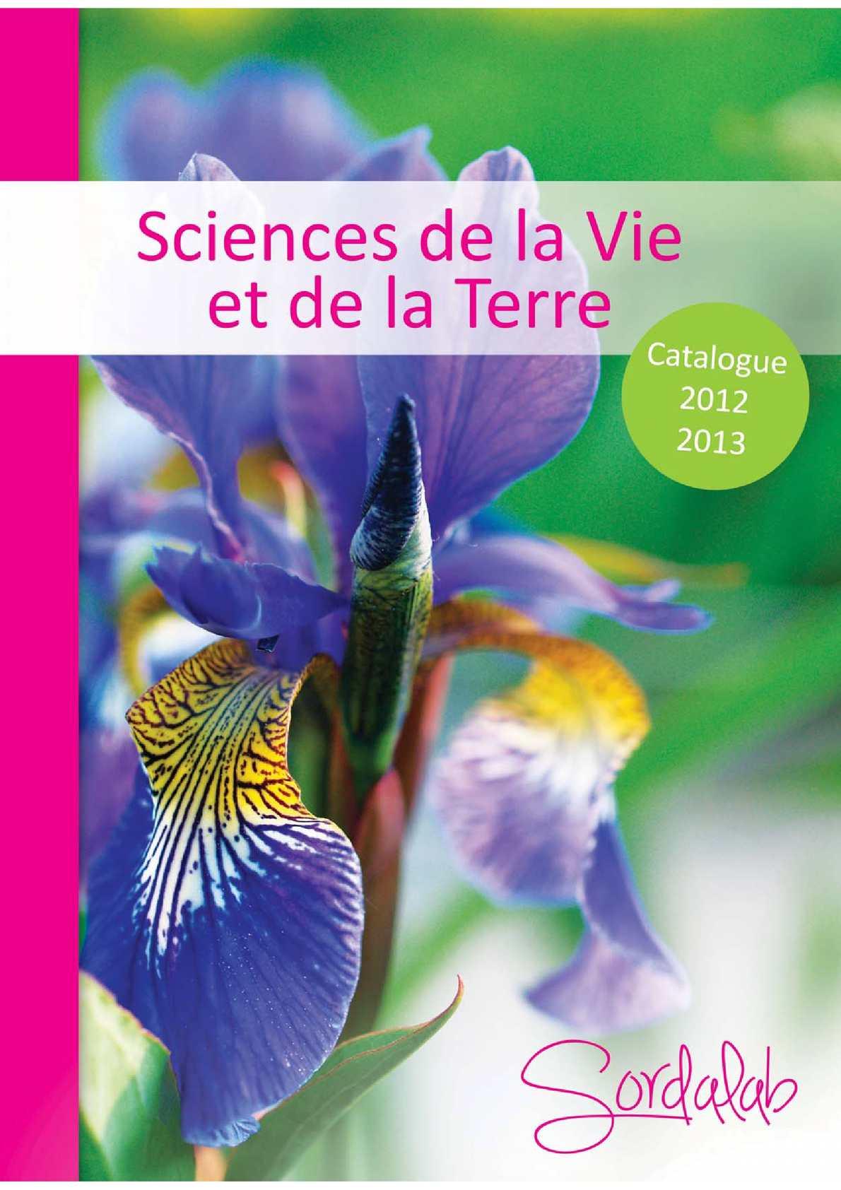 Calamo Catalogue SVT Sordalab 2012 2013