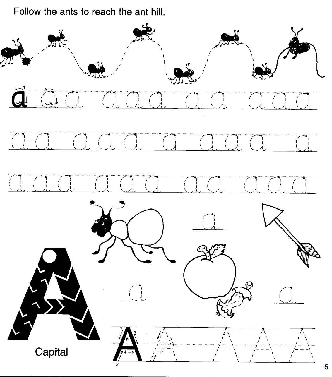 Jolly Phonics Worksheet 1