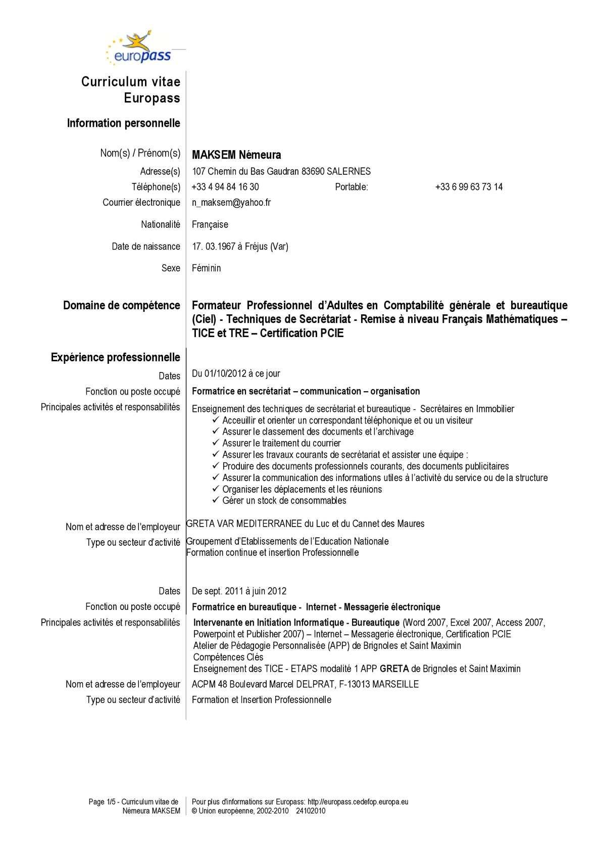 Calameo Recherche Poste De Formateur Bureautique Comptabilite Secretariat Remise A Niveau Francais Mathematiques