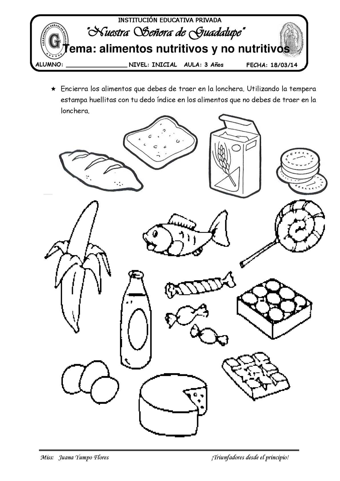 Gardening Worksheet For Preschoolers
