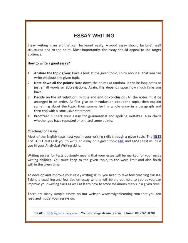 Calaméo - essay writing