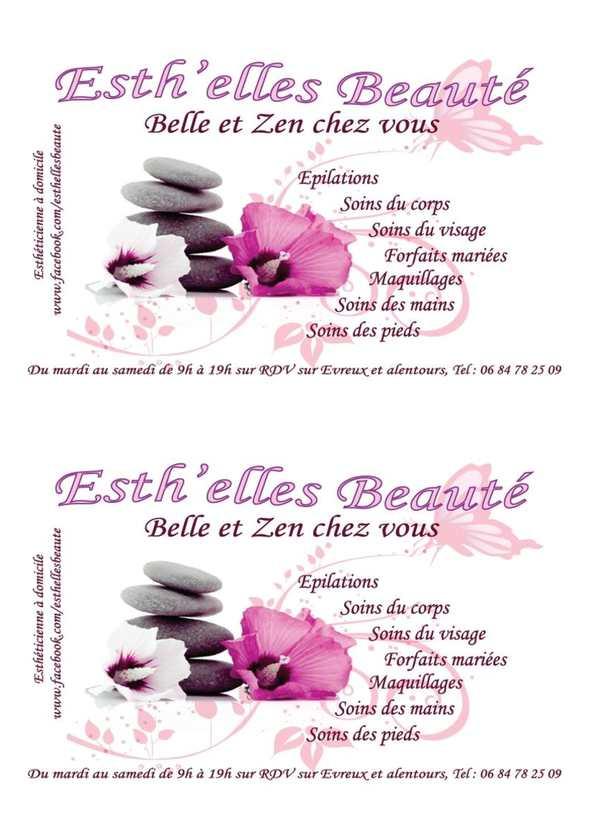 Calamo Carte Visite Et Fidlit Esthelles Beaut