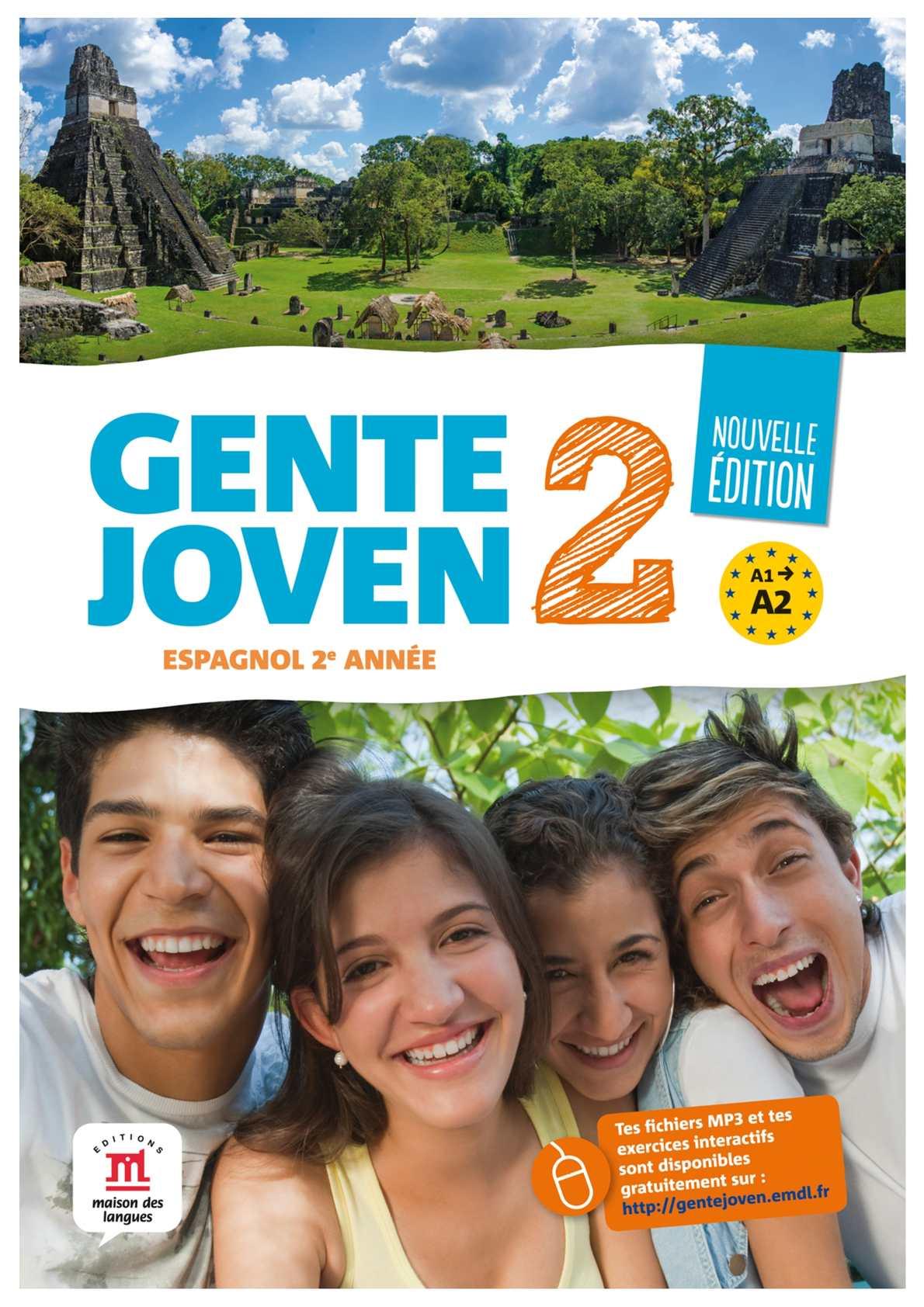 Calameo Gente Joven 2e Annee Nouvelle Edition Livre De L Eleve