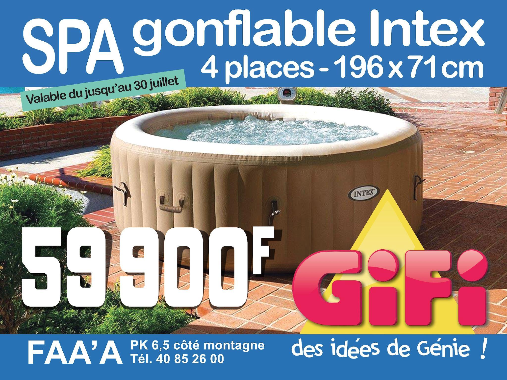 Calameo Gifi Spa Chauffant Intex