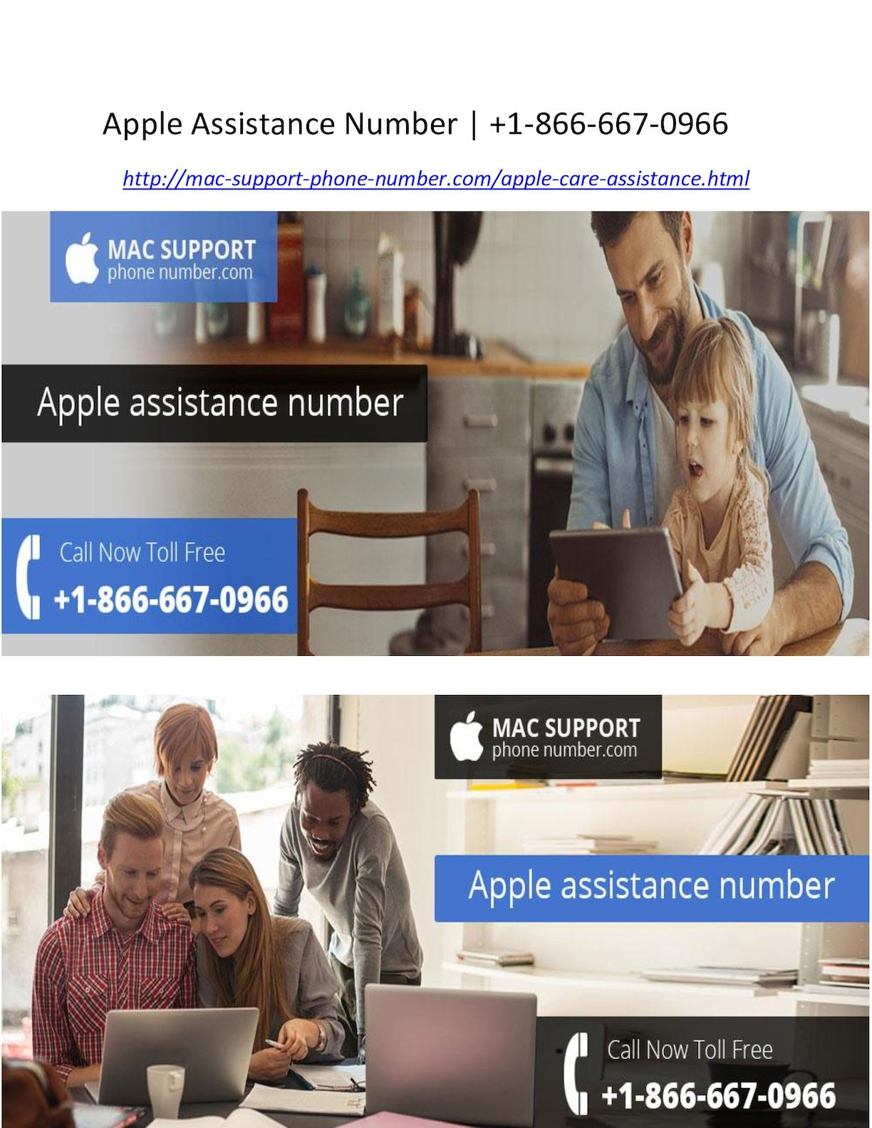 Calam    o   Apple Assistance Number  1 866 667 0966