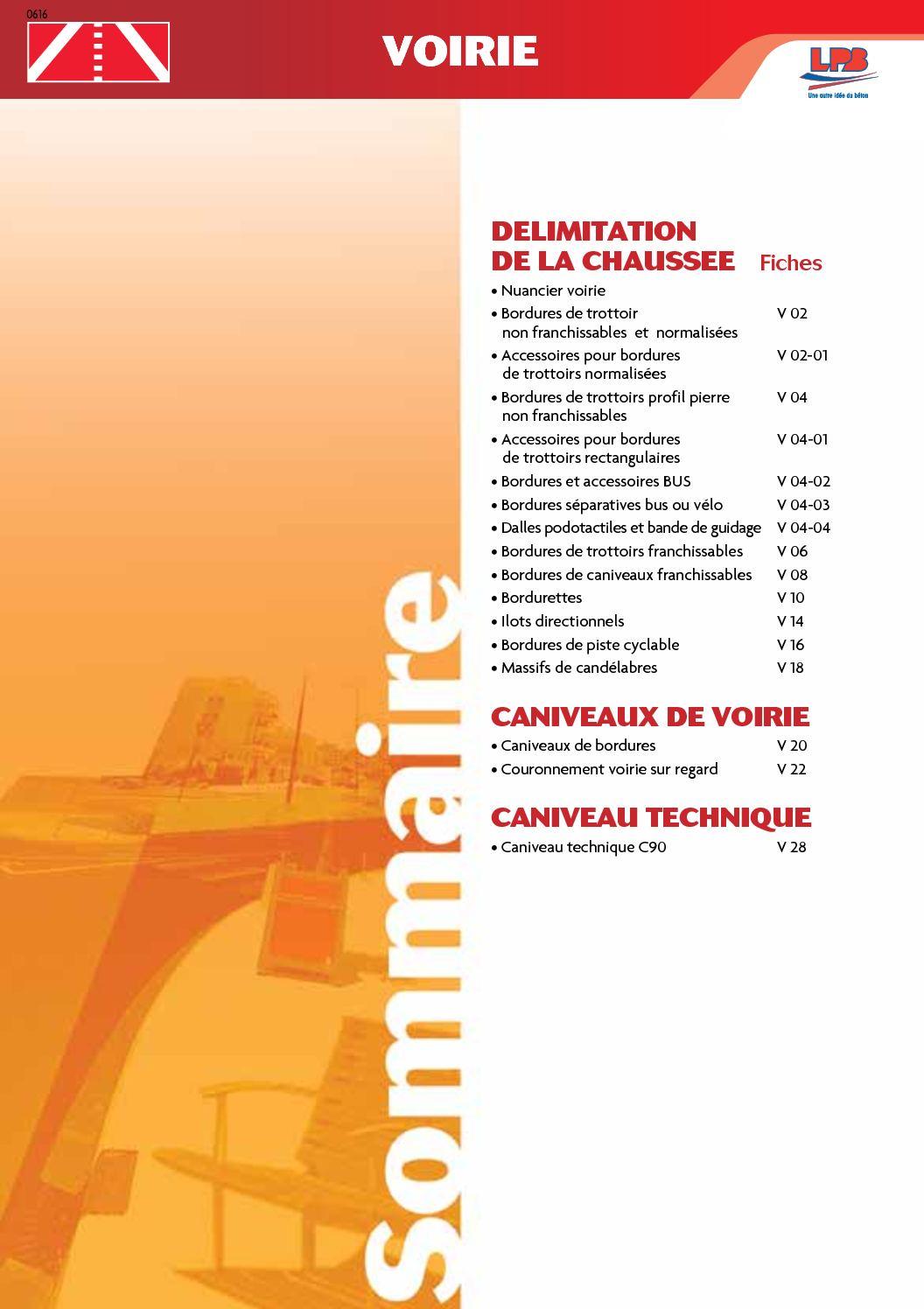 calameo catalogue produits beton voirie