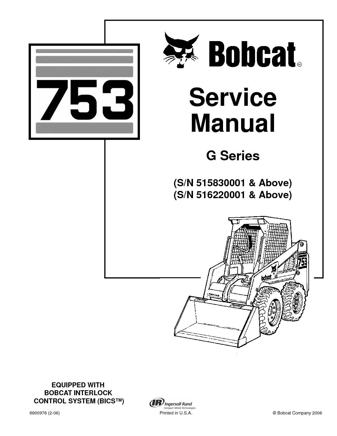 753 Bobcat Wiring Schematic