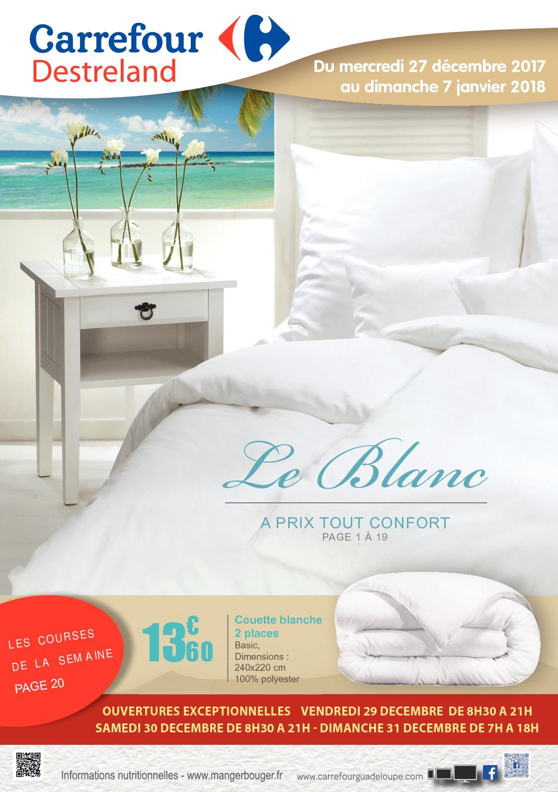 Calameo Carrefour Guadeloupe Destreland Catalogue Blanc 2018