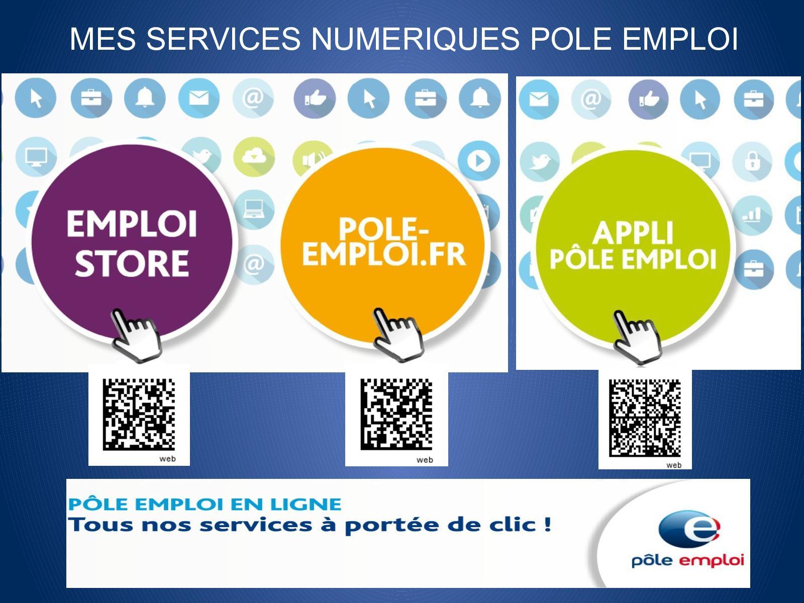 Calameo Le Guide De Mes Services Numeriques Pole Emploi