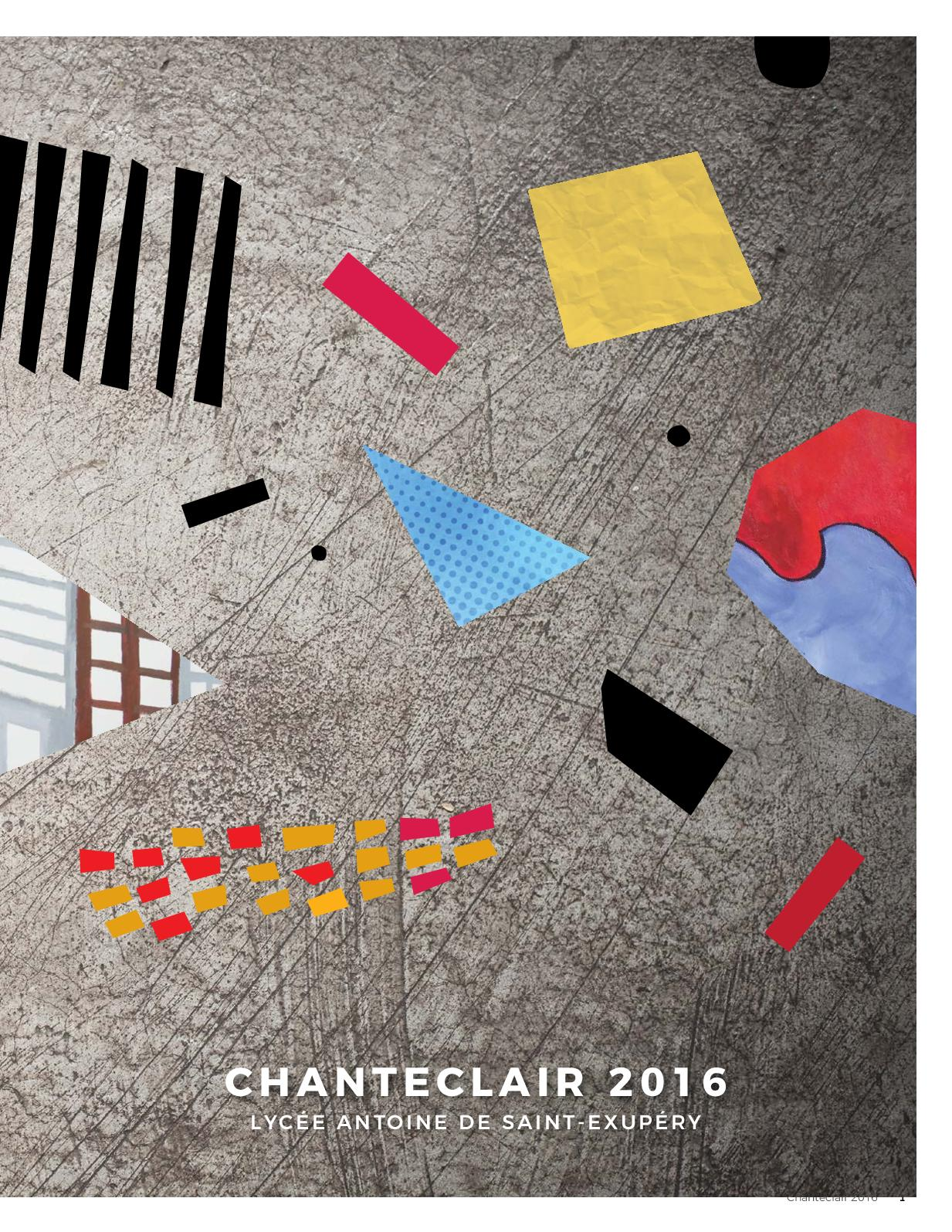 Calameo Chanteclair 2016