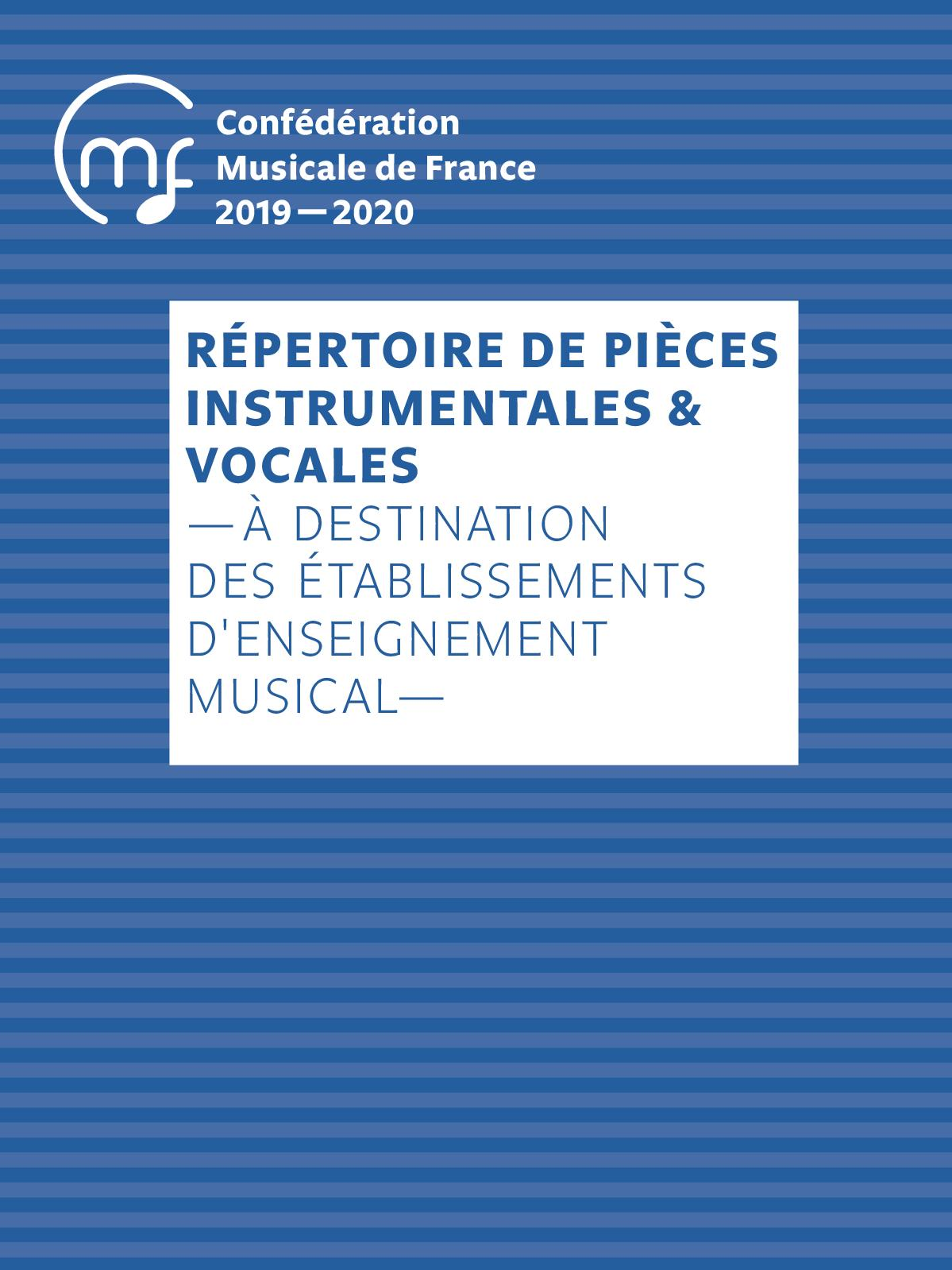 Calameo 2020 2021 Repertoire Instrumental Enseignants Artistiques