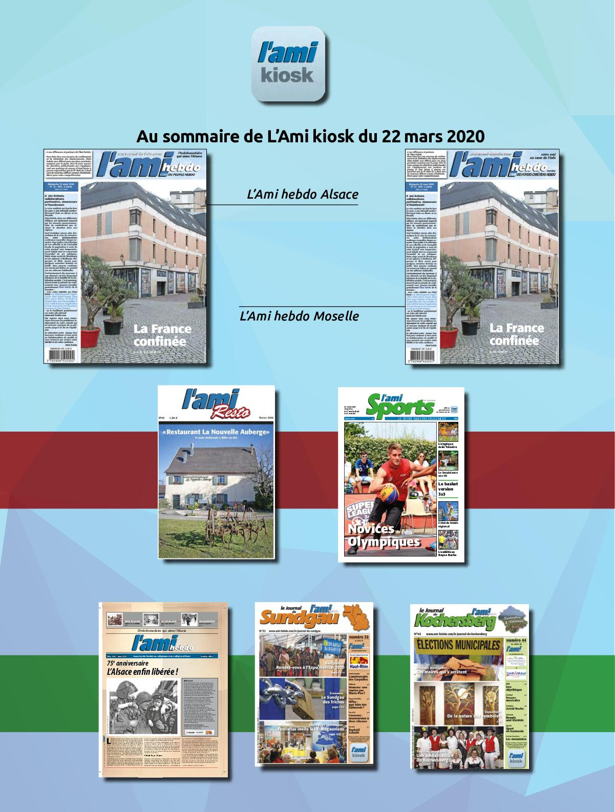 Calameo L Ami Kiosk Date Du 22 Mars 2020