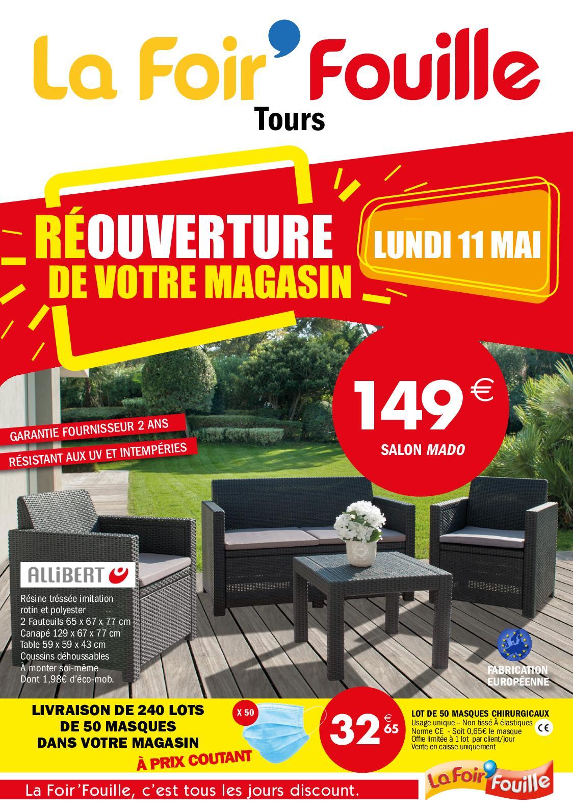Calameo Reouverture Foir Fouille Tours