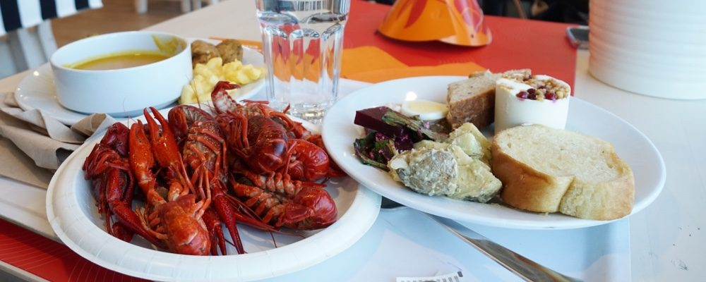 Heres What Ikea Canadas All You Can Eat Crayfish Buffet