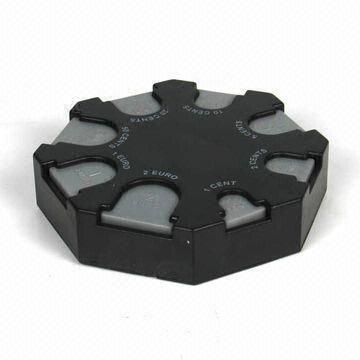 China Car Coin Holder Made Of ABS Material Recessed On 1