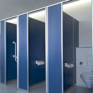 Clean Booth Reinforced PanelRobust Type Of Toilet