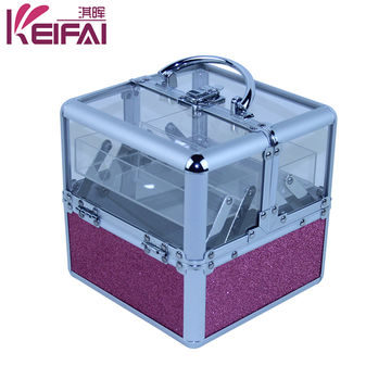 Vanity Clear Acrylic Makeup Train Case Global Sources