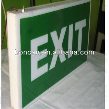 ... Corridor ELRT R Edge Lit Exit Signs Edge Lights Exit Light Co The Exit  Light Company Federal And State Certified Specialists In Sales And Service  Office ...