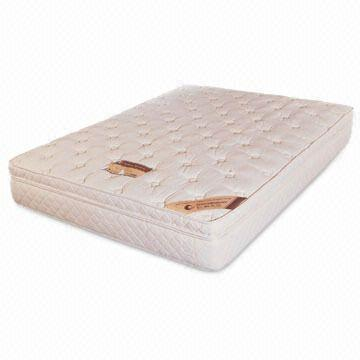 China Latex Double Mattress With 1 0mm Soft Pocket Coil In Top Layer Made Of