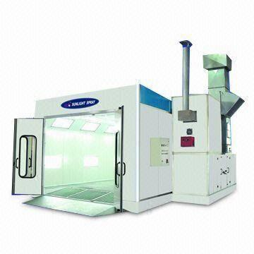 automotive paint spray booth with ce