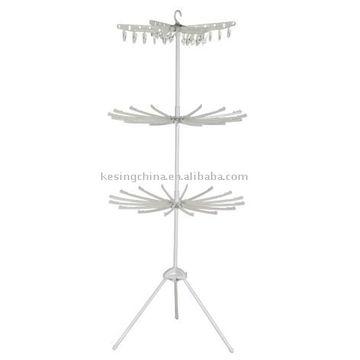 tiers indoor clothes drying rack