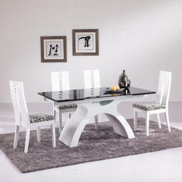 Extendable Glass Dining Table Sets Interior Design
