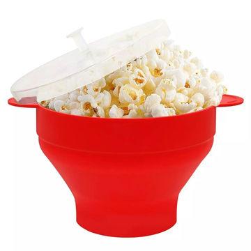 silicone popcorn maker