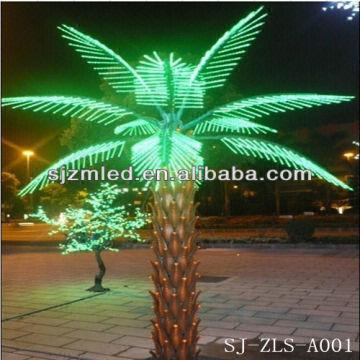 Led Palm Tree Light Artificial Lighted Palm Tree Lighted