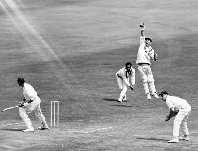 Kanhai at inch in a game at Lord's