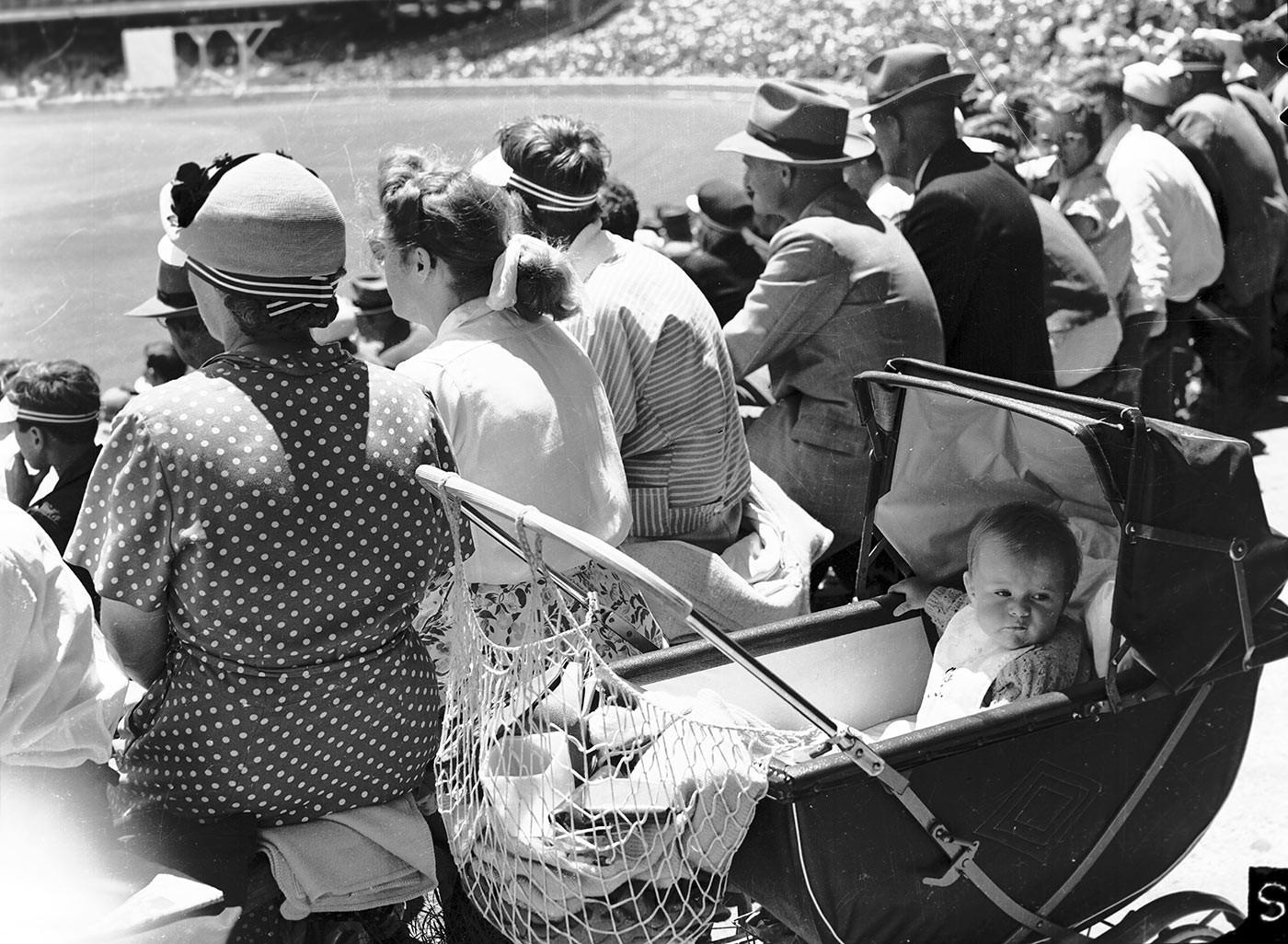The way we were: spectators at a Test during the 1954-55 Ashes