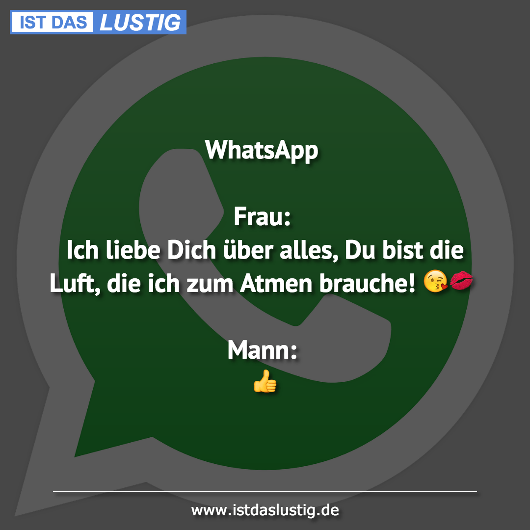 Whatsapp Frau Ich Liebe Dich über Alles Du B